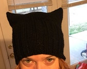 Black Pussyhat: special order for am2rnot