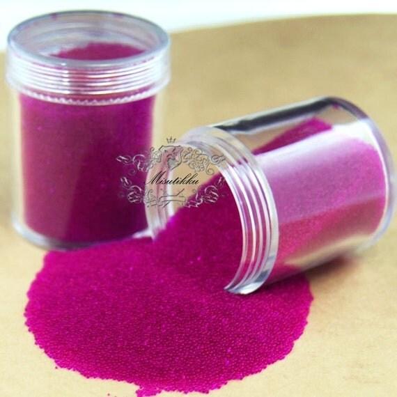 1 botella de 10/05/15 gramos caliente rosa Microbeads bolas Micro ...