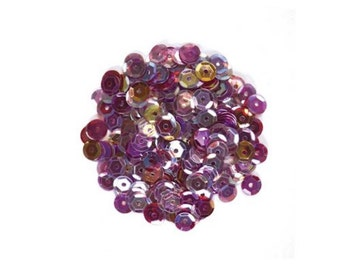 Hero Arts: CH305 OMBRE PURPLE SEQUINS, gems, pearls, packet, variety of sizes, scrapbooking, crafting, card making, compatible, pretty