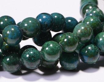 Chrysocolla 8mm Beads Natural Gemstone Bead Craft Supplie Jewelry Making
