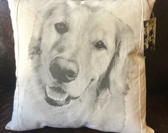 Personalized Pet/Photo Pillow on Canvas