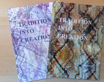 Tradition into Creation Book I & II by Jacqui Barber - reprint
