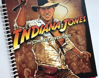 Raiders of the Lost Ark Recycled into a Notebook or Journal Harrison Ford (we love you!!) Indiana Jones