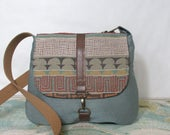 Last one! Santa Fe- Crossbody messenger bag // Southwestern // Tribal // Vegan purse // Travel bag // Casual purse // Ready to ship