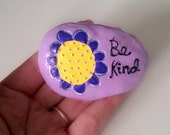 cUstOm oRdeR Be Kind Decorative Paper Weight Polymer Clay Ooak Desk Home Decor