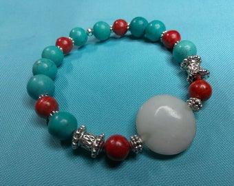 New tribal color bracelet.