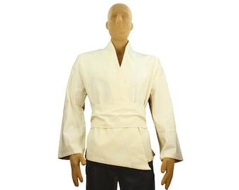Jedi Costume Tunic Shirt Adult Beige