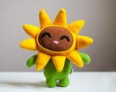 Little Happy Sunflower Plush