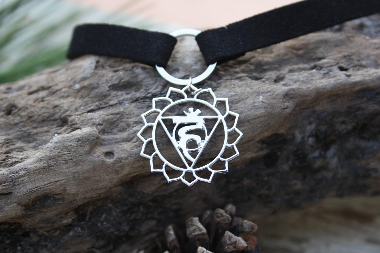 Throat Chakra Choker Chakra Necklace Necklace Chakra