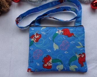 Kid's Crossbody Bag:THE LITTLE MERMAID