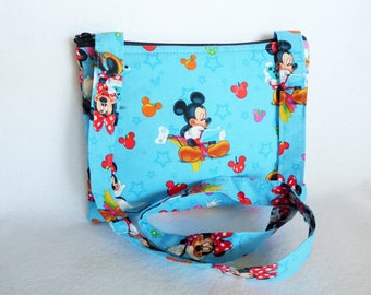 Kid's Crossbody Bag:Disney Mickey Mouse