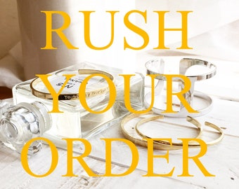 RUSH YOUR ORDER, last minute gifts, Priority Mail, Express Mail