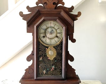 Vintage Mantel Clock New Haven