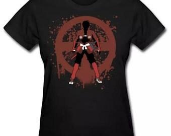 Drifters Dorifutazu Toyohisa Shimazu Anime Silhouette Shirt
