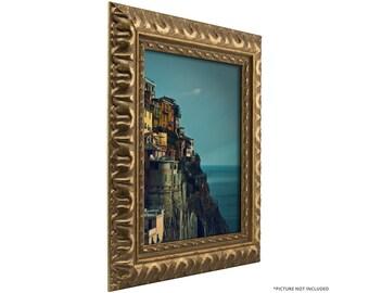 "Craig Frames, 4x6 Inch Antique Bronze Picture Frame, Bravada Ornate, 2"" Wide (212479060406)"