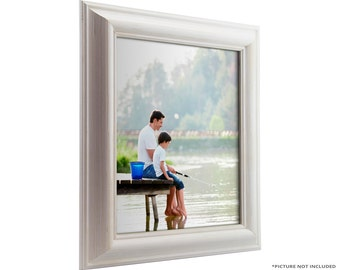 "Craig Frames, 20x30 Inch White Picture Frame, American Classic 1.75"" Wide (773329002030)"