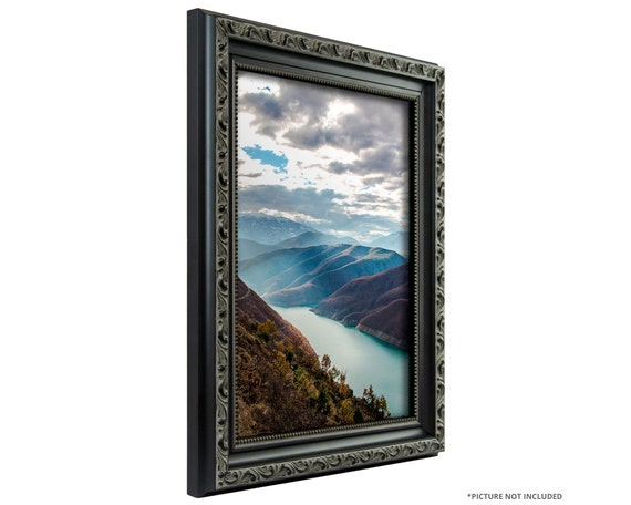 Craig Frames 24x36 Inch Antique Black Picture Frame Ancien