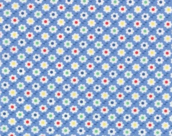 30's Playtime Blue Floral