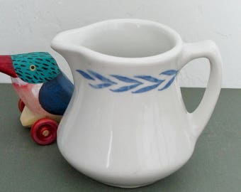 United Nations Creamer American Restaurant Ware by Caribe China Distributed by Minners & Co 1960s