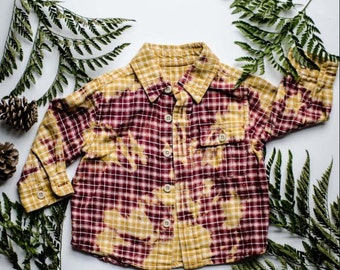 Infant/Toddler Faded Hiking Flannel