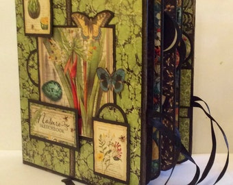 Nature Sketchbook Folio Album