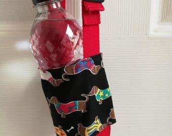 Bottle sling - dachshunds