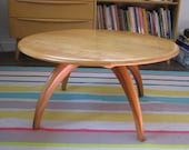 Heywood Wakefield Coffee or Cocktail Table w Revolving Top