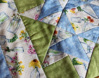 Spring Floral Star Table Topper- Minnesota Quilt Fabric