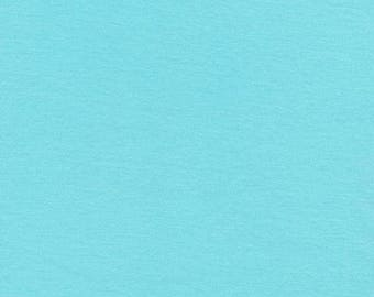 Solid (Rain) - Interlock Knits - Organic Cotton - Cloud 9 Fabrics - 1 Yard