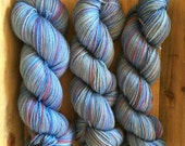 Cash'Sock - a cashmere/merino/nylon blend fingering yarn - Blues