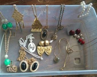 Destash of Vintage Jewelry