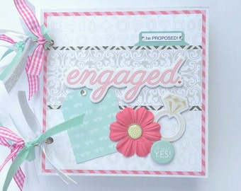 Engagement Mini Album Premade