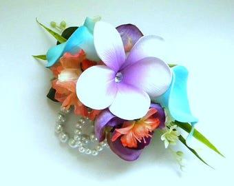 Tropical Spring Garden Corsage