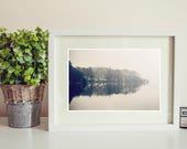 BW lake district photograph, photo print, landscape photo, whimsical fine art photography, black and white landscapes, decor