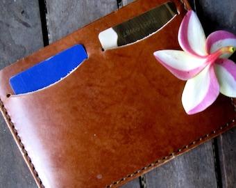 Leather passport case, passport wallet, travel wallet, hand made travel wallet hand made in USA, passport case, personalized travel wallet