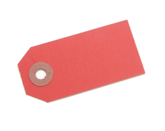 Red Parcel Gift Tags