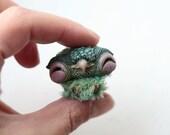 Tiny Green Owl