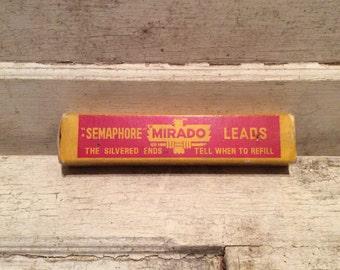 Pencil Leads, Vintage, Office Supplies, Desk Supplies, Props, Desk Props, 1930s, Industrial, All Vintage Man