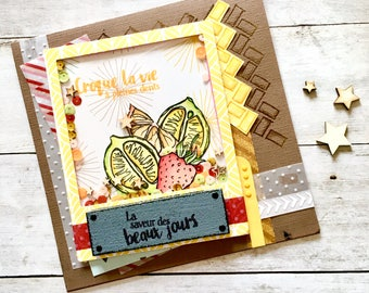 Handamade Card → Croque la Vie