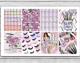 Glam Life Full Box Planner Stickers