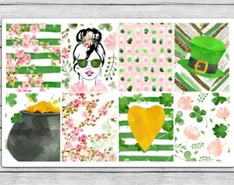 Lucky Girl Full Box Planner Stickers