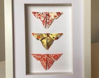 Framed Origami Butterflies