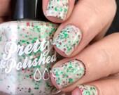 Obligatory Christmas Polish Glitter Nail Polish