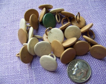 Lot of 25 Vintage Upholstery Buttons