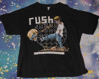 RUSH Roll The Bones Rock T-Shirt Size XL