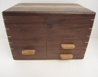 Ladies Jewelry Box with Hidden compartments.