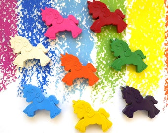 Unicorn Crayons – Unicorn Gift – Unicorn Party Favors – Rainbow Crayons –Rainbow Party Favors – Childrens Art Supplies – Crayola Crayon Art