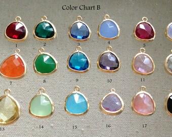Add Glass Charm // Birthstone Glass Charm