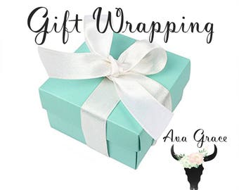 Gift Wrapping with purchase of any item from Ava Grace