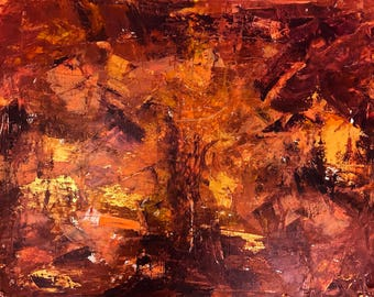 """abstract paint-acrylic on canvas 32""""x 24"""""""